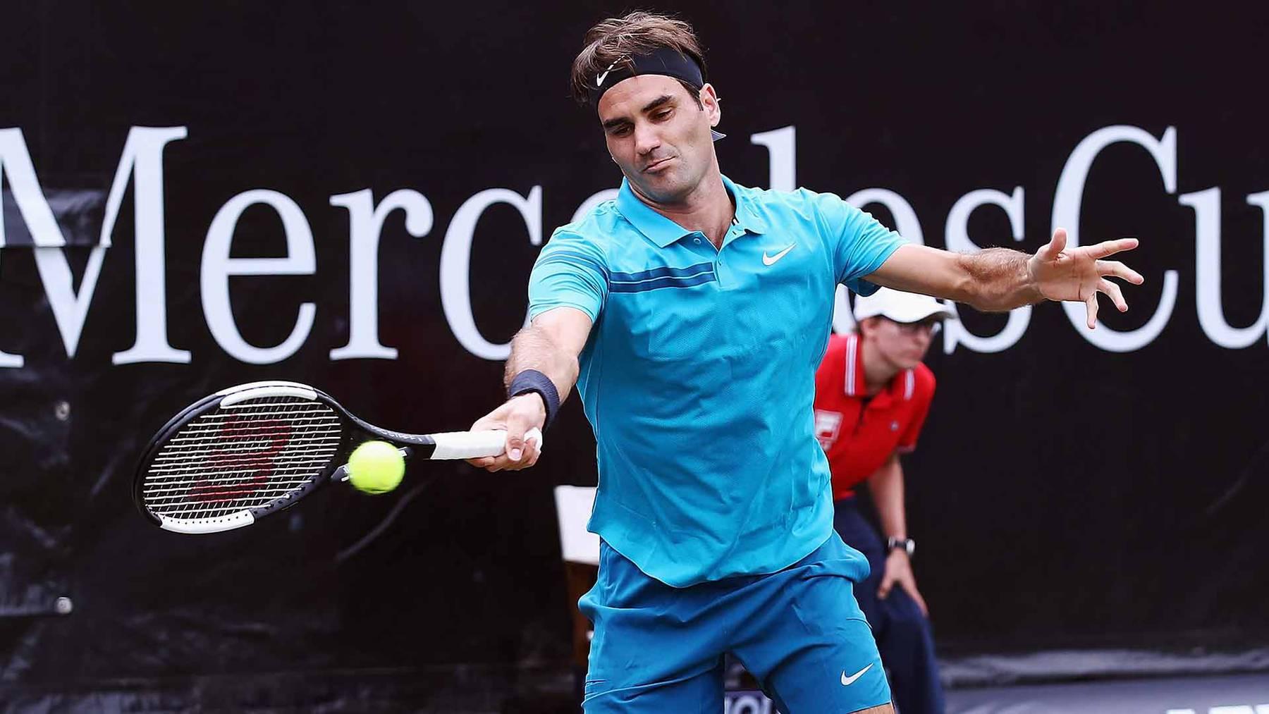 Federer gewinnt erstmals Turnier in Stuttgart