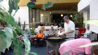 Neuer Name: Der Zweckverband soll künftig Seniorenzentrum «Im Morgen» heissen und so als Begegnungsstätte für Senioren wahrgenommen werden. (Bild: Christian Murer)