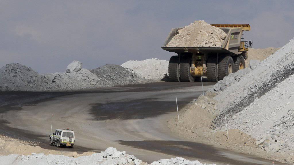Australien hält nichts von einem Verbot für Kohleabbau: Mine bei Gunnedah nördlich von Sydney (Archiv)