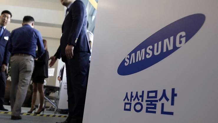 Vor der Generalversammlung von Samsung in Seoul: Der südkoreanische Konzern bereitet sich auf einen weiterhin harten Konkurrenkampf mit Apple vor. (Archivbild)