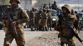 Pakistanische Soldaten (Symbolbild)