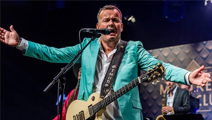 Philipp Fankhauser hat sich seinen Kindheitstraum erfüllt und ist Bluesmusiker geworden.