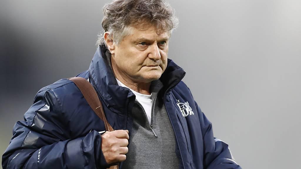 Ancillo Canepa hat bislang an Trainer Ludovic Magnin festgehalten