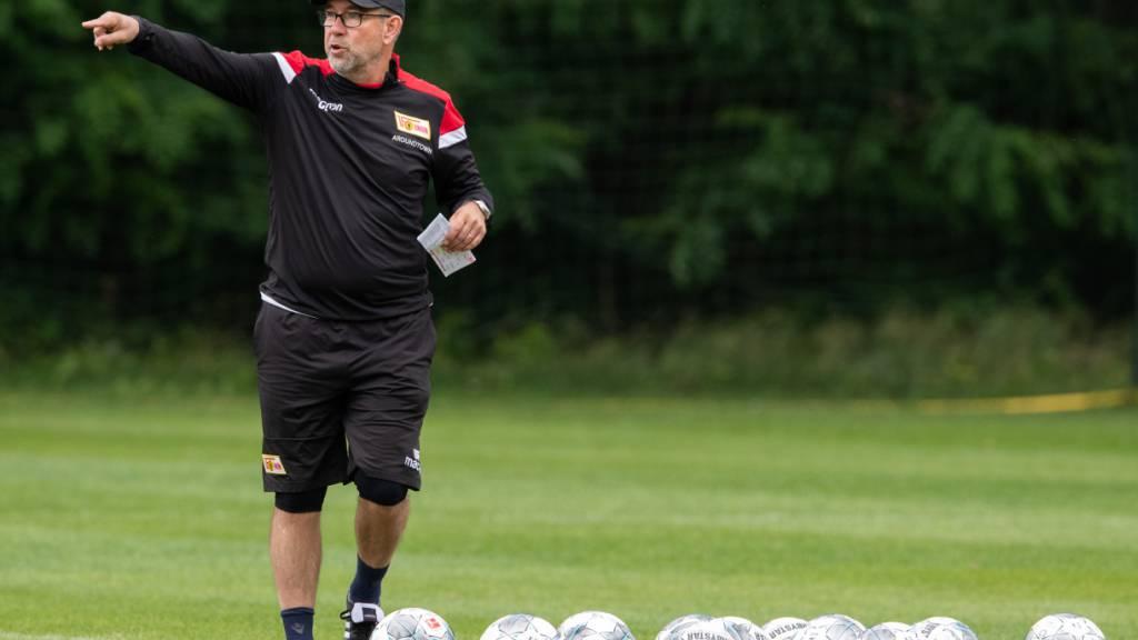 Urs Fischer leitet Training bei Union Berlin wieder