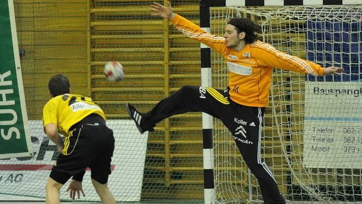 Tobias Wipf kehrt zum HSC Suhr Aarau zurück.
