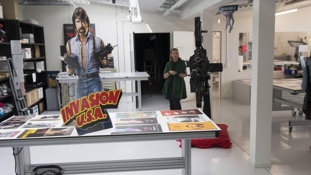 Cinémathèque suisse weiht Forschungszentrum ein