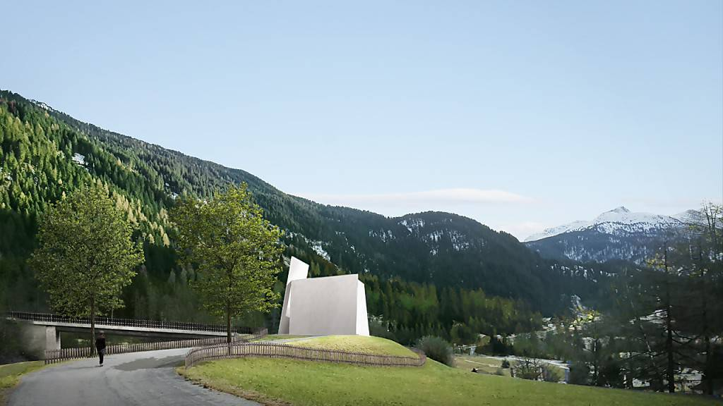 Die erste Schweizer Autobahnkirche entsteht in Graubünden