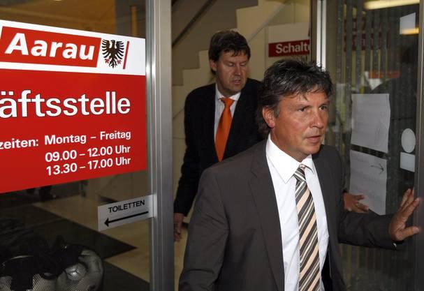 Kurze Zeit nach seinem Abgang in Bern wird der Zuger im Jahr 2009 Trainer des FC Aarau.