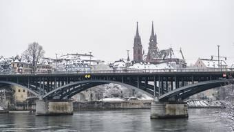 Schnee in Basel Maärz 2018
