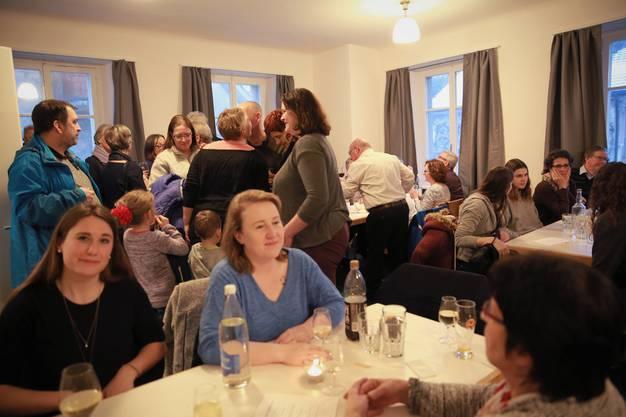 Das Gasthaus Krone in Stetten feierte am Samstag Neueröffnung. Im Bild: Der Kronensaal.