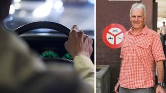 Tony Lüscher,ehemaliger Fahrlehrer und Verkehrsexperte aus Bretzwil, möchte, dass Seniorinnen und Senioren hin und wieder eine Fahrstunde absolvieren.