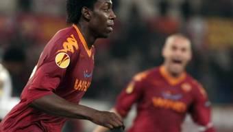Stürmer Stefano Okaka sicherte der AS Roma den Sieg