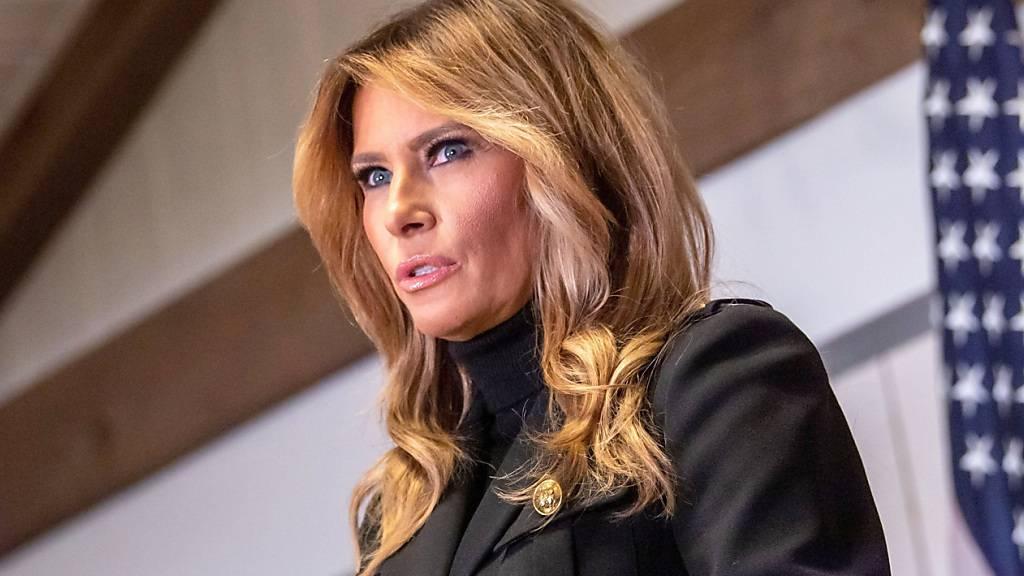 First-Lady Melania Trump: «Enttäuscht und entmutigt»