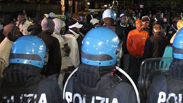 Aufstände von Migranten in Kalabrien