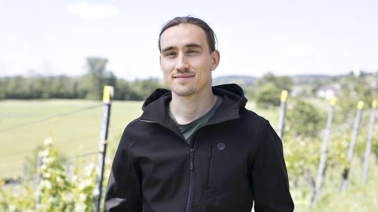 Urs Pudorski, Fachspezialist Weinbau beim Landwirtschaftlichen Zentrum Liebegg.