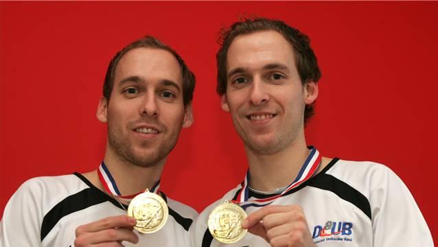 Für Manuel (li) und Dominic Mucha ist eine WM-Medaille in Griffnähe gerückt.