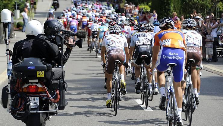 Zürich und Bern kämpfen um die Austragung der Rad-WM 2024. Der Radsportverband Swiss Cycling wird den Entscheid fällen. (Symbolbild)