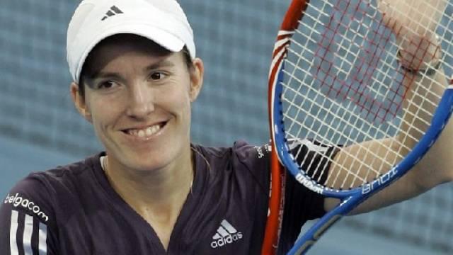Justine Henin erreichte in Brisbane nach ihrem Comeback den Final