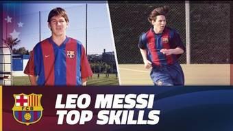 Eine Zusammenstellung der besten Szenen von Leo Messi während seinen Jugendjahren bei Barça