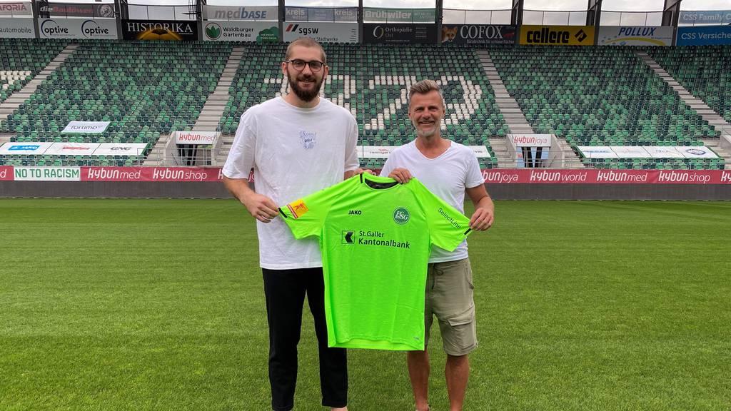 FCSG holt Goalie aus der 2. Bundesliga