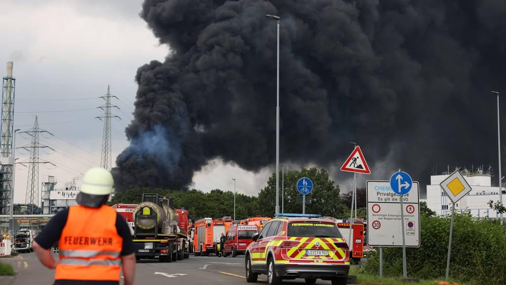 Grosse Explosion in Leverkusen fordert zwei Todesopfer