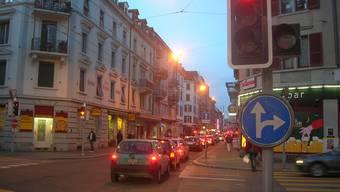 Der Raubüberfall ereignete sich in der Nähe der Langstrasse. (Symbolbild)