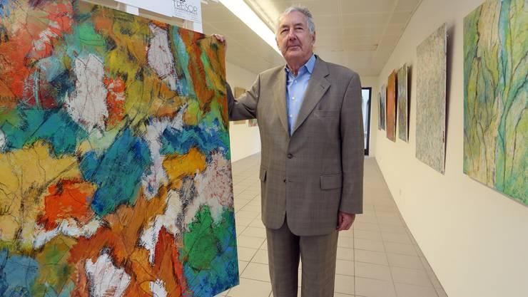 Kurt Lang präsentiert in der «Galerie zum Chübel» über 30 neue Arbeiten. HR. Aeschbacher