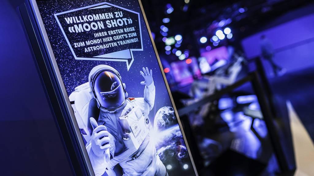 Verkehrshaus: 50 Jahre Planetarium, 50 Jahre Mondlandung