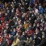 Volle Stadien sind derzeit nicht möglich, was den Klubs grosse Mindereinnahmen beschert.