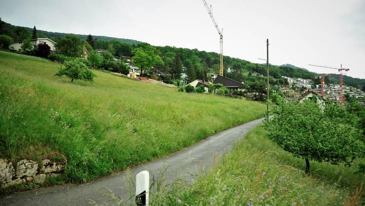 Das Bibersteiner Gebiet Fuchsloch liegt im Westen des Dorfs und stellt eine Lücke im Siedlungsgebiet dar.