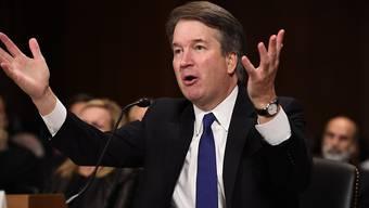 Richter Brett Kavanaugh: Fällt ihm seine emotionale Aussage vor dem Justizausschuss jetzt vor die Füsse? Das FBI hat mit den Ermittlungen begonnen.