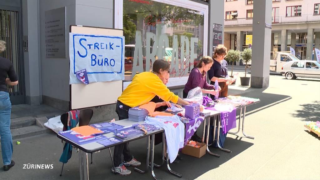 Countdown für den Frauenstreik läuft