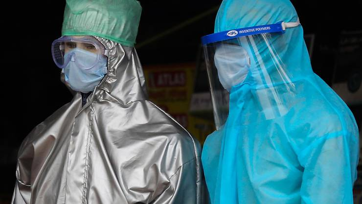 Maximal Virus-geschützt in Sri Lanka.