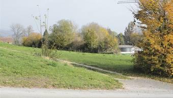 Der mögliche Asylstandort auf dem Grundstück Hüslimatt/Aabach.