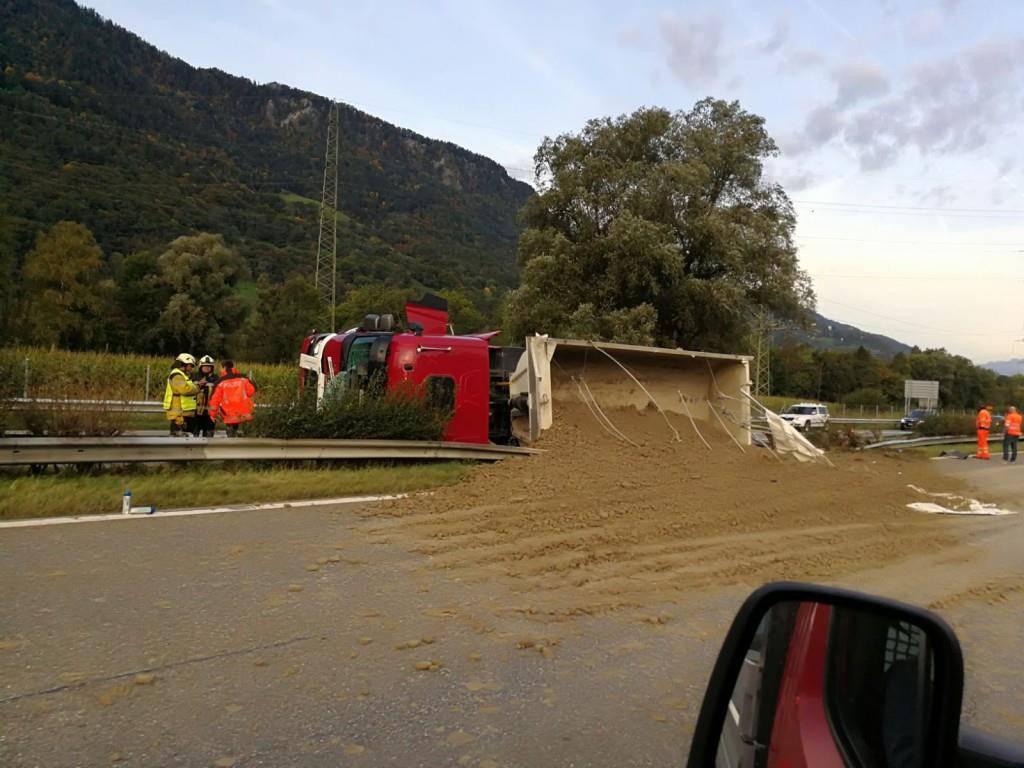 Unfälle bei Landquart (© Todayreporter)