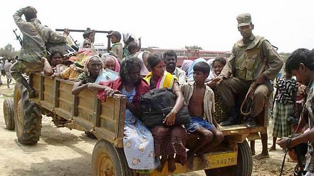 Humanitäre Lage in Sri Lanka beunruhigt