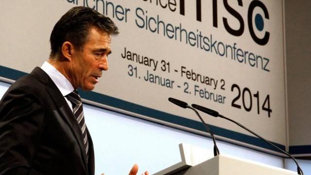 """NATO-Chef Rasmussen bedauert """"kalte Kooperation"""""""