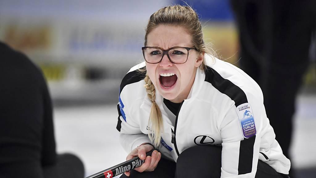 Schweizer Curlerinnen mit Allzeit-Rekord