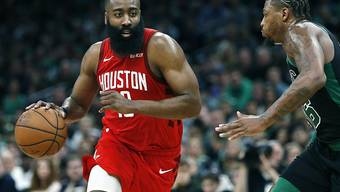 James Harden führte die Houston Rockets in Boston mit 42 Punkten zum Sieg