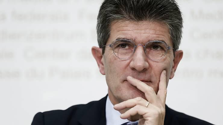 Patrick Odier übergibt heute den Stab an den Nachfolger. Neuer Präsident der Bankiervereinigung wird Herbert Scheidt. (Archiv).