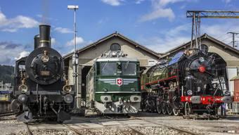 Die Stiftung Bahnpark Region Brugg wird für ihre beispielhafte Erhaltung der Aargauer Eisenbahn-Geschichte ausgezeichnet.