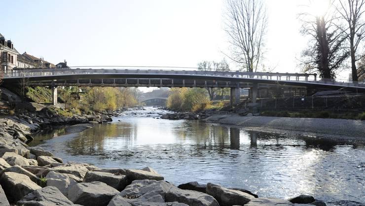 Die Leiche wurde in der Nähe des Birsköpfli im Fluss gefunden (Symbolbild)
