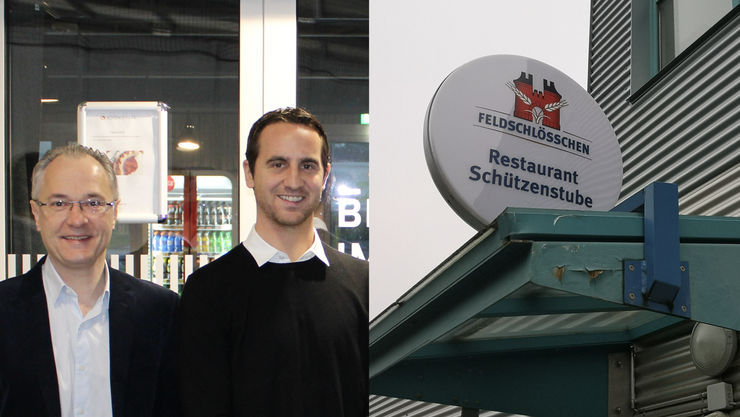 Sandro Burki (r.) und René Holenweger übernehmen mit «Marco Polo» die «Schützenstube».