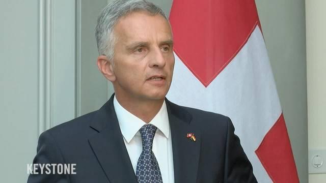 Didier Burkhalter will stärkeren Dialog mit der EU