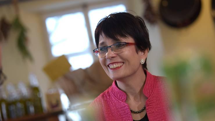 Landratspräsidentin Elisabeth Augstburger hört am Ende der Amtsperiode auf.