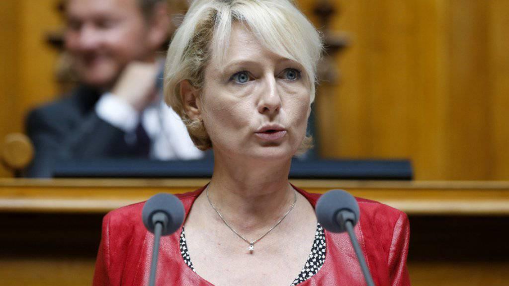 Nun ist die Kandidatur offiziell: Die FDP Waadt hat Nationalrätin Isabelle Moret für die Nachfolge des zurücktretenden Bundesrates Didier Burkhalter nominiert.(Archivbild)