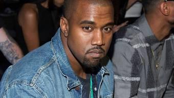 Kanye West letzte Woche auf der New York Fashion Week (Archiv)