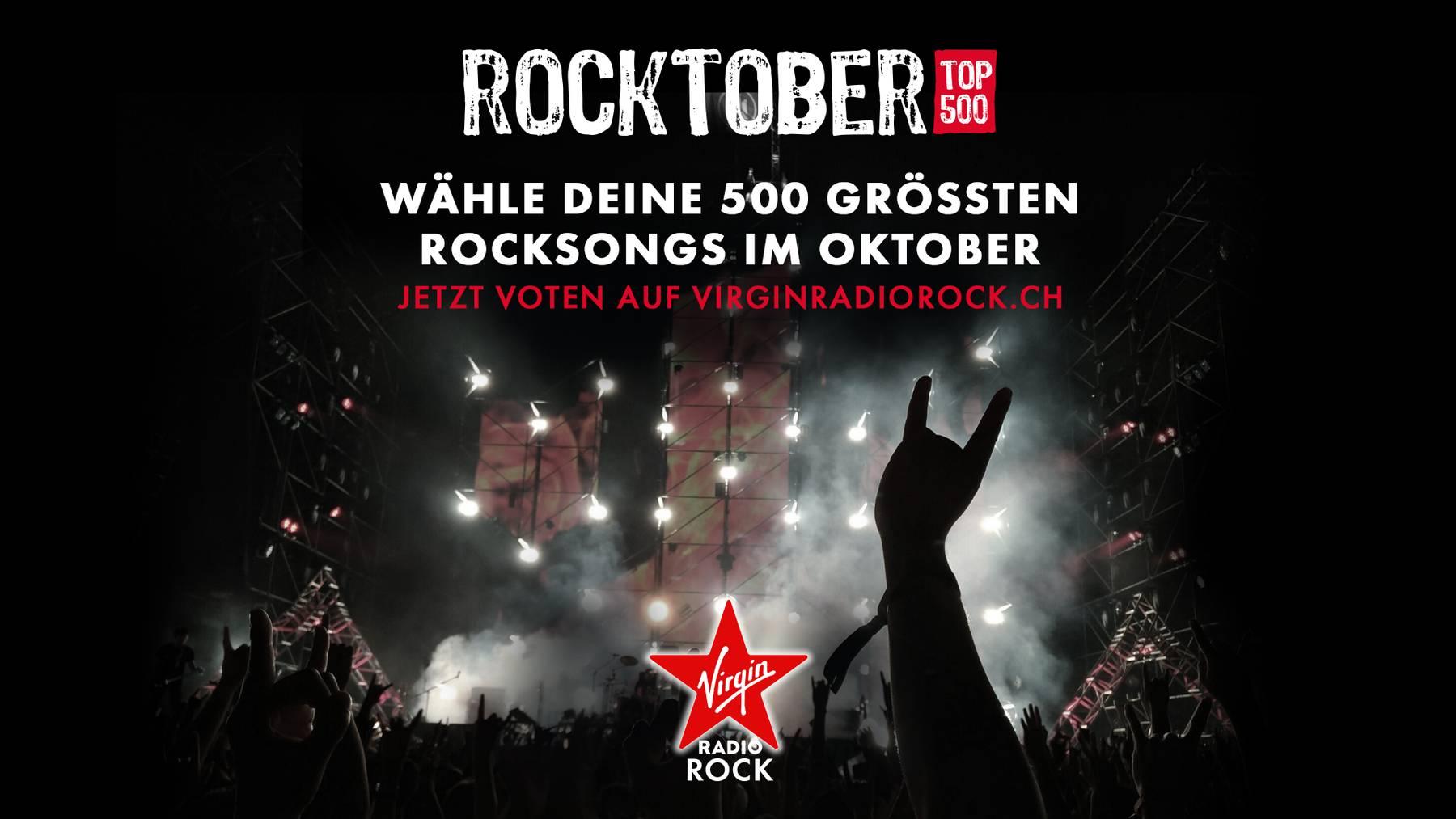 Virgin Rock Rocktober Top500 Voting