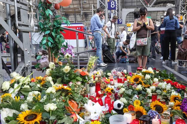 Es folgen weitere Bilder aus dem Frankfurter Hauptbahnhof.