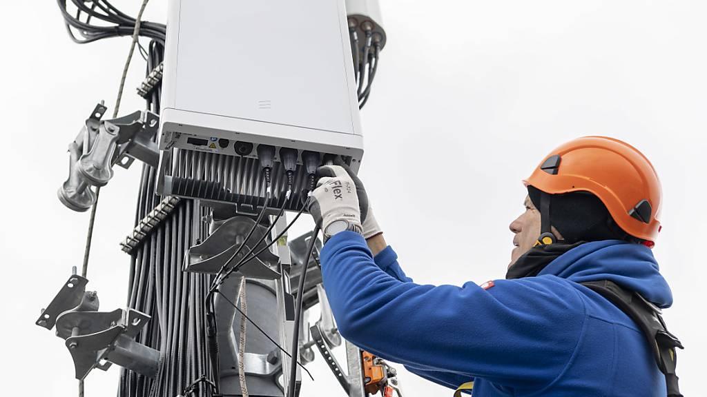 5G-Antennen werden vorläufig in Emmen keine montiert. (Symbolbild)